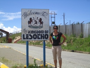 At the Lesotho Border